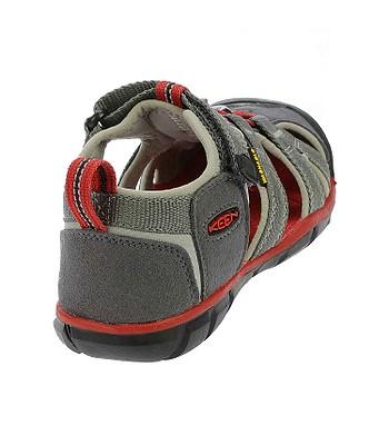 dětské boty Keen Seacamp II CNX - Magnet Racing Red  f96715756a