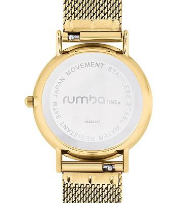 hodinky RumbaTime Lafayette Mesh - Gold - snowboard-online.sk e531cb09d88