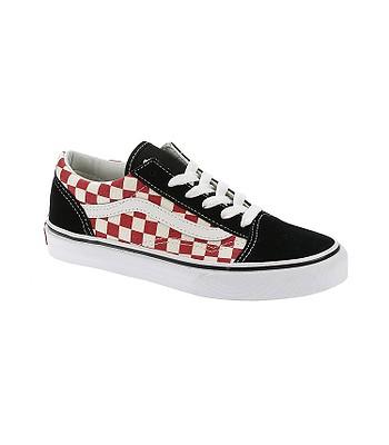 80083aaa802 boty Vans Old Skool - Checkerboard Black Red