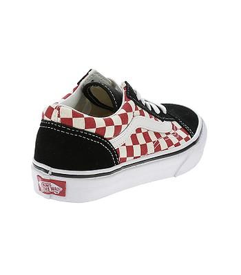 topánky Vans Old Skool - Checkerboard Black Red  ffa4b71807e