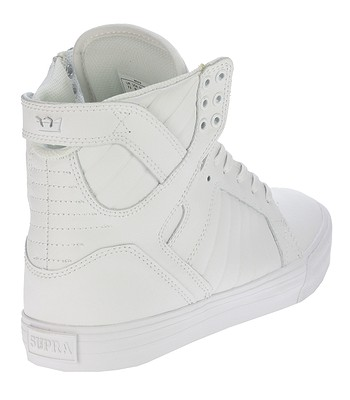 topánky Supra Skytop - White White Red  5554c4bf854