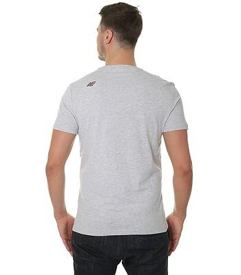 tričko 4F H4L18-TSM002 - Cold Light Gray Melange. Produkt již není dostupný. 7cf66c0449