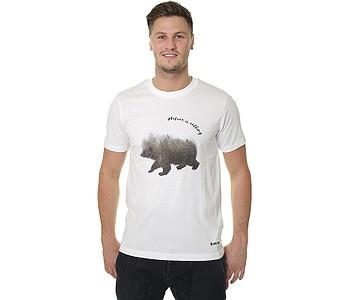 tričko Hi-Tec Beor - White