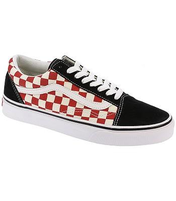 shoes Vans Old Skool - Checkerboard Black Red - snowboard-online.eu fbcf6eb30