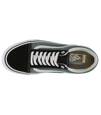 shoes Vans Old Skool Pro - Black Duck Green - snowboard-online.eu 34ea34a0892