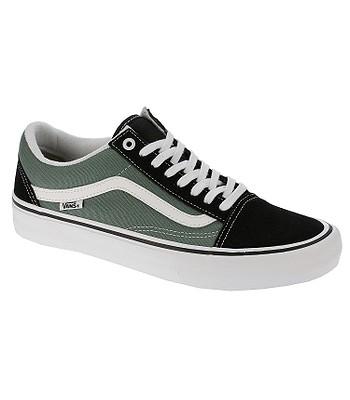 shoes Vans Old Skool Pro - Black Duck Green - snowboard-online.eu 64175e209