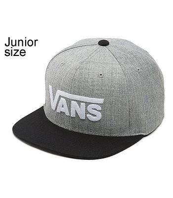 kšiltovka Vans Drop V II Snapback Youth - Heather Gray Black ... de304339e9