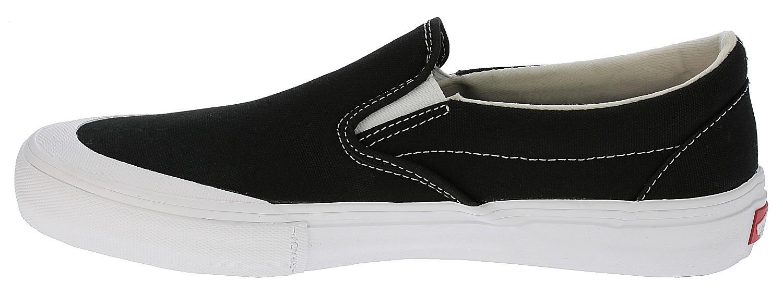 shoes Vans Slip-On Pro - Toe Cap/Black