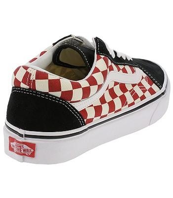 topánky Vans Old Skool - Checkerboard Black Red. Produkt už nie je dostupný. 455eec6b8ec