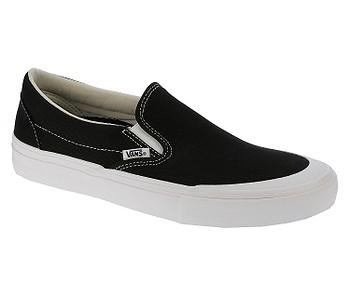 8292bc1502 TOPÁNKY VANS SLIP-ON PRO - TOE CAP BLACK WHITE - skate-online.sk