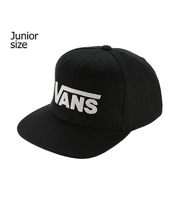 kšiltovka Vans Drop V II Snapback Youth - Black White  1d13440a9b