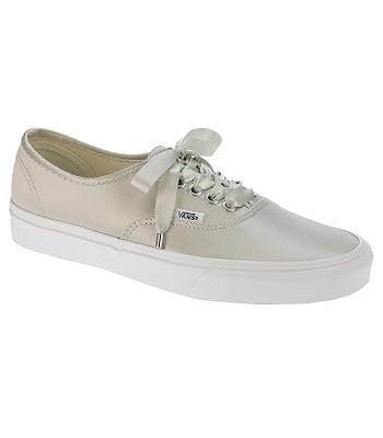 topánky Vans Authentic - Satin Lux Light Silver True White ... 927a6cb704d
