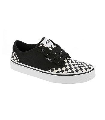 dětské boty Vans Atwood - Checkerboard Black Classic White ... 9fb4ca96bb