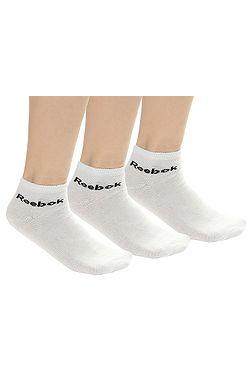 5111bc41c65 ponožky Reebok Performance Royal Training Ankle 3 Pack - White ...