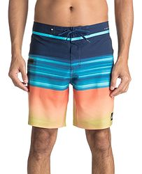 koupací šortky Quiksilver Highline Hold Down Vee 18 - BSW6 Estate Blue 4e0e6a9012