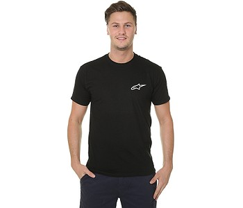 tričko Alpinestars Neu Ageless - Black/White