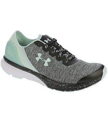 boty Under Armour Charged Escape - 002 Black White Refresh Mint ... 3e67ab6d164