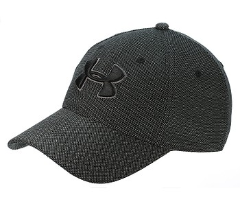 kšiltovka Under Armour Heathered Blitzing 3.0 - 001/Black/Graphite
