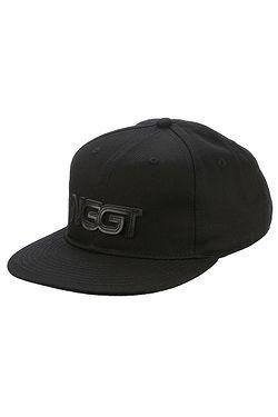 9d1fd250bb4 kšiltovka Nugget Nomad Snapback - B Black ...