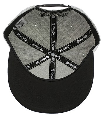 kšiltovka Meatfly Motion Snapback - A Gray Heather Black -  snowboard-online.cz 02e9db41e1
