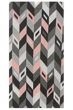 5b9465cc408 šátek Hi-Tec Temir - Pattern Impatiens Pink