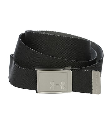 ce25e30f belt Under Armour Webbing 2.0 - 001/Black/Rhino Gray - blackcomb-shop.eu