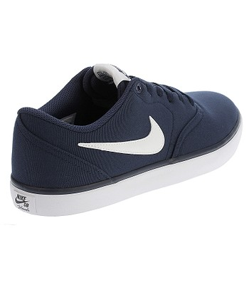 sale retailer 48370 f3fc3 shoes Nike SB Check Solar Canvas - Midnight Navy White. IN STOCK ‐ by 20.  5. at your home