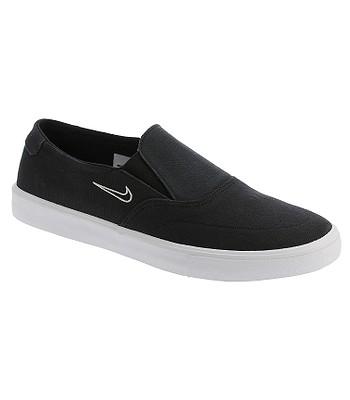 6ec0ca9fc1c6 shoes Nike SB Portmore II Solarsoft Slip-On Canvas - Black Black Light Bone  - blackcomb-shop.eu