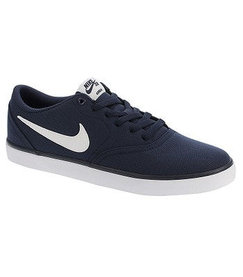 timeless design d654c 2e66e shoes Nike SB Check Solar Canvas - Midnight Navy White - snowboard-online.eu