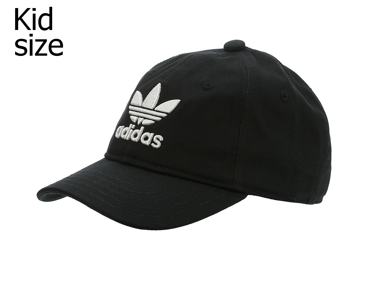 Kappe adidas Originals Trefoil Cap Child Black blackcomb