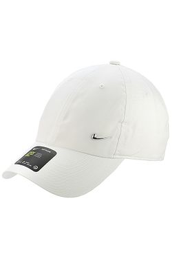 cap Nike Sportswear Heritage86 Metal Swoosh - 100/White/Metallic Silver
