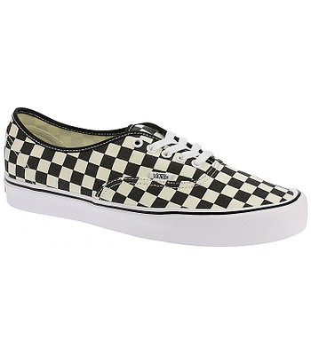 topánky Vans Authentic Lite - Checkerboard Black White - snowboard ... 9101cdee061