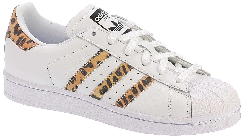 scarpe adidas originali superstar bianco / fornitore di colore nero / core