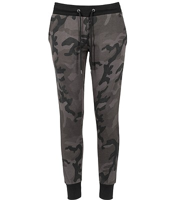 80357b69d3a0 tepláky Urban Classics Camo Terry TB1638 - Dark Camouflage Black. SKLADEM  -11%