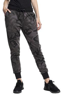 tepláky Urban Classics Camo Terry TB1638 - Dark Camouflage Black 866401c1c4