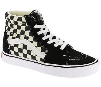 boty Vans Sk8-Hi Lite - Checkerboard Black White - boty-boty.cz - doprava  zdarma d8e069289aa