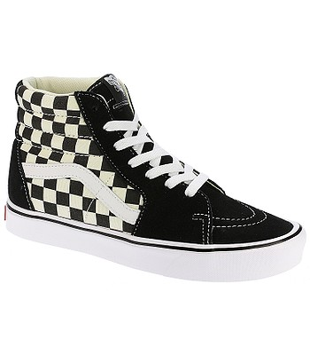 topánky Vans Sk8-Hi Lite - Checkerboard Black White - snowboard ... efead6e2cf