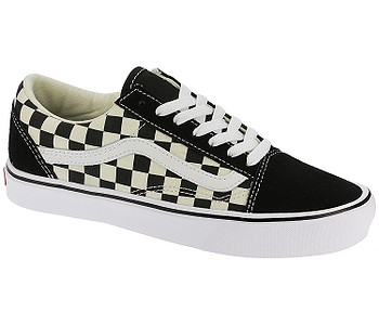 boty Vans Old Skool Lite - Checkerboard Black White - boty-boty.cz -  doprava zdarma 30f839edb36