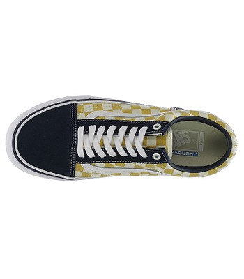b960271ee9b139 shoes Vans Old Skool Pro - Checkerboard Dress Blues Ochre. No longer  available.