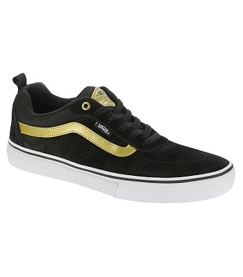 shoes vans kyle walker pro black metallic gold