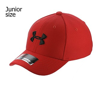 kšiltovka Under Armour Blitzing 3.0 Youth - 600/Red