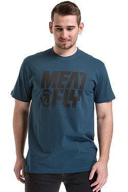 c24d8bb64db tričko Meatfly Shaper 2 - A Dark Slate