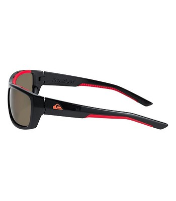 226910634 okuliare Quiksilver Knockout - XKRS/Shiny Black Red/Gray | blackcomb.sk