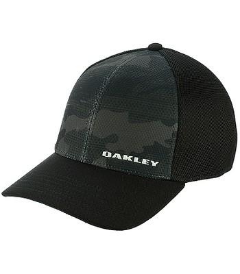 šiltovka Oakley Silicon Bark Trucker Print 2.0 - Black  9ff1bf7766b