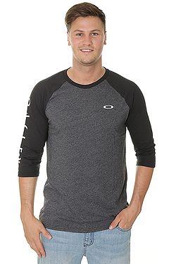 e84e5bf8b tričko Oakley 50 Oakley Sleeve Raglan - Blackout Light Heather