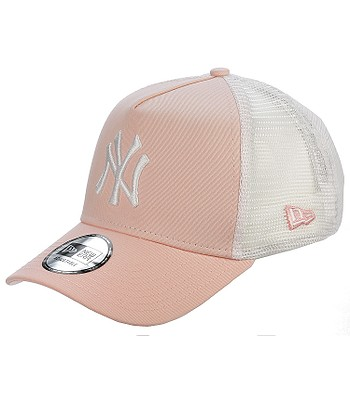 cap New Era 9FO League Essential Trucker MLB New York Yankees - Pink White  - snowboard-online.eu 90a47e2c6608