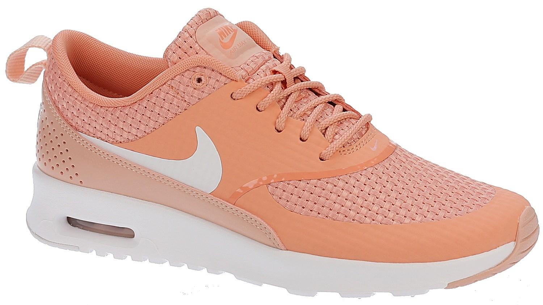 scarpa Nike Air Max Thea Premium Crimson BlissWhite