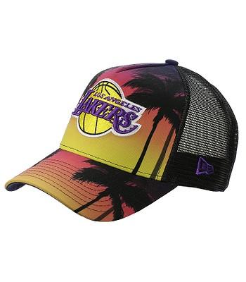 7ec0ec6c059 cap New Era 9FO Coastal Heat Trucker NBA Los Angeles Lakers - Pink Yellow -  snowboard-online.eu