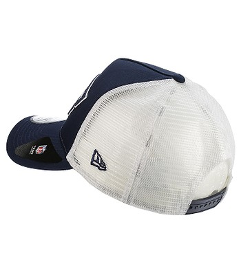 detailed look new appearance well known cap New Era 9FO Team Essential Trucker NFL New England Patriot ...