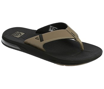 žabky Reef Fanning Low - Black/Tan